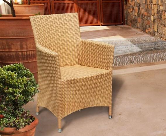 Verona 8 Seater Rattan Dining Set with 2.2m Rectangular Table