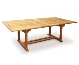 Dorset Extending Teak Dining Table with Chairs