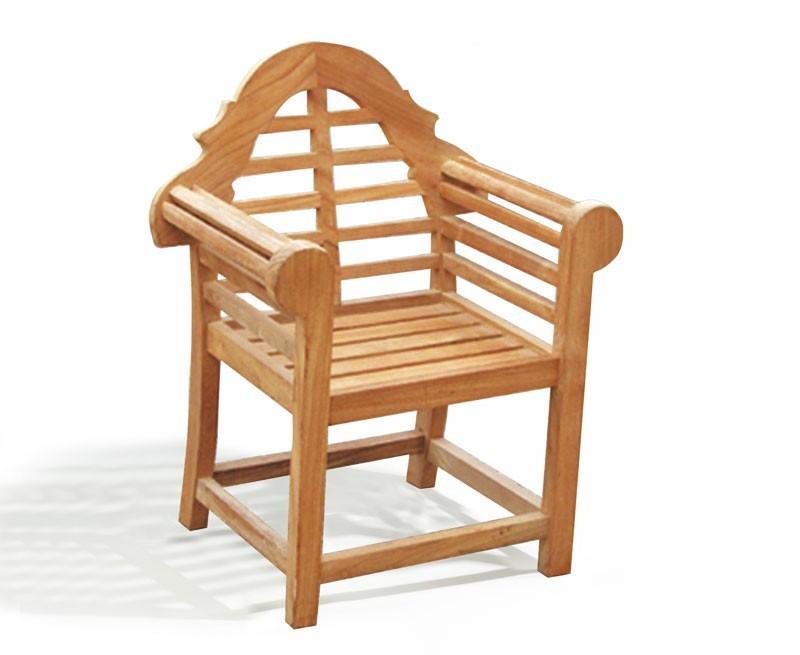 Lutyens-Style Teak Kid's Outdoor Chair