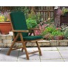 Cannes Outdoor Reclining Arm Chair with Cushion