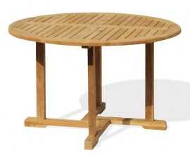Sissinghurst Round Teak Table