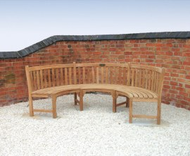 Sissinghurst Bench Dining Set