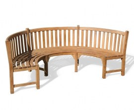 Marlow Semi Circle Bench