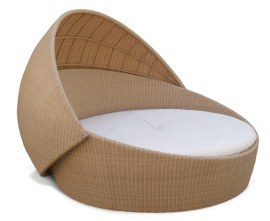 Poly-Rattan Outdoor Daybed