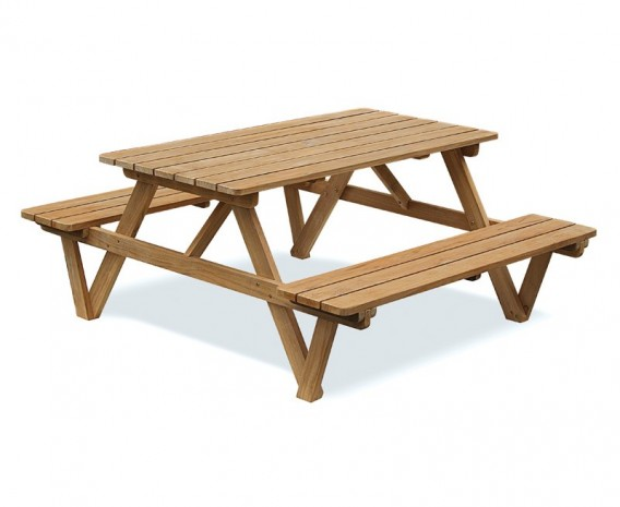Traditional Wooden Pub Bench