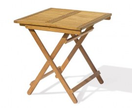 Palma Folding Picnic Table, Square - 70cm