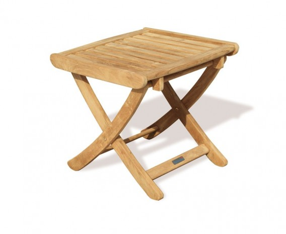 Tewkesbury Teak Adjustable Height Stool - Footstool