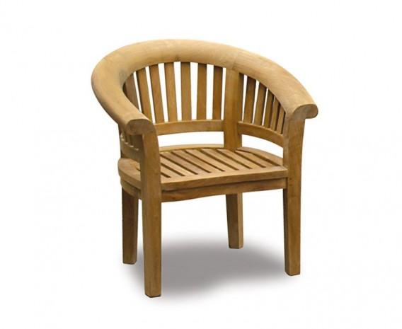 Deluxe Teak Banana Chair