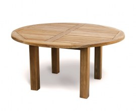 Orion Teak Circular Garden Table - 1.5m