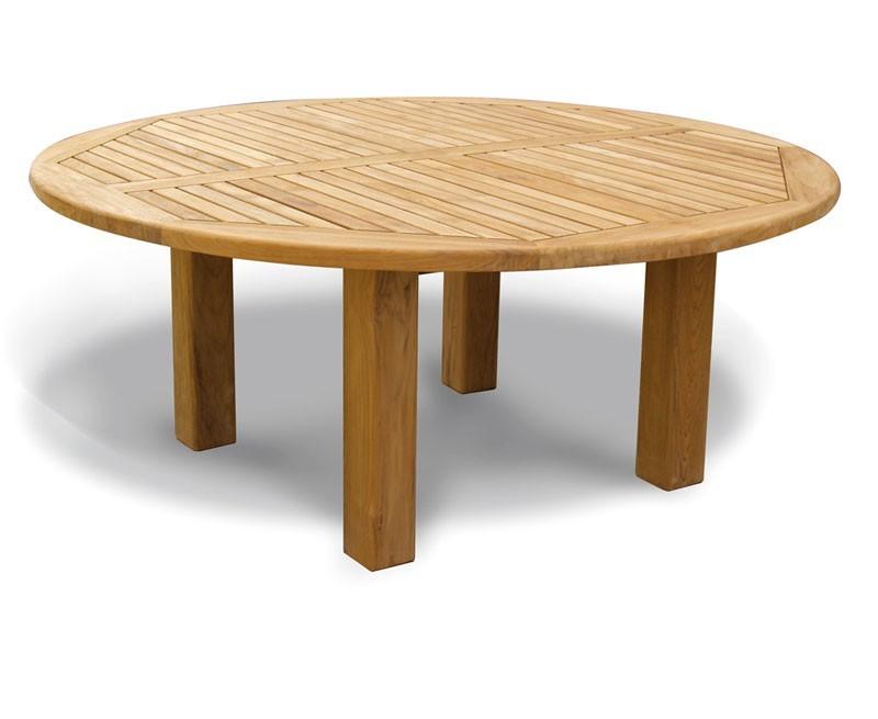 Orion Teak Circular Garden Table - 1.8m