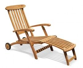 Steamer Garden Chair with Cushion