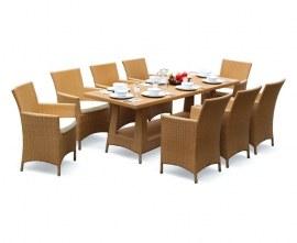 Verona Rattan Outdoor Dining Set