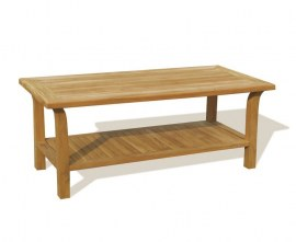 Rectangular Teak Outdoor Coffee Table