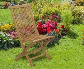 Newhaven Teak Folding Garden Chair