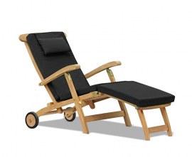Steamer Garden Chair with Wheels