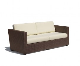 Verona 4 Seater Faux Rattan Outdoor Sofa