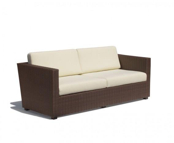 Verona 4 Seater Synthetic Rattan Garden Sofa