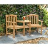 Gloucester Teak Garden Companion Seat