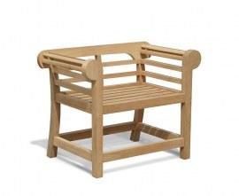 Teak Lutyens Armchair - Low Back