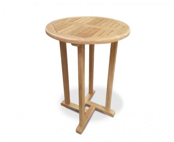 Sissinghurst Teak Outdoor Bar Table - 70cm