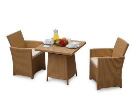 Azure 2 Seater Woven Outdoor Dining Set
