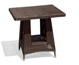 Verona Wicker Dining Table