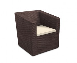 Azure Wicker Garden Sofa Chair