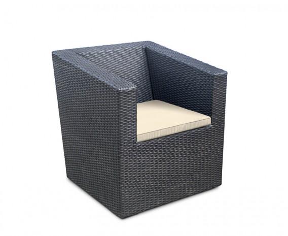 Azure Rattan Garden Armchair