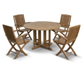 Teak Garden Table and Chairs Set