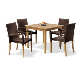 Hampton Teak Garden Dining Set