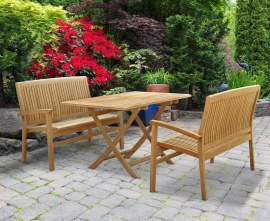 Rimini Bench and Table Set
