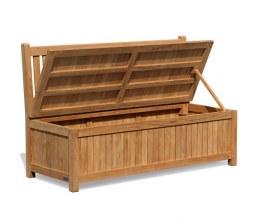 York Garden Bench Storage Box