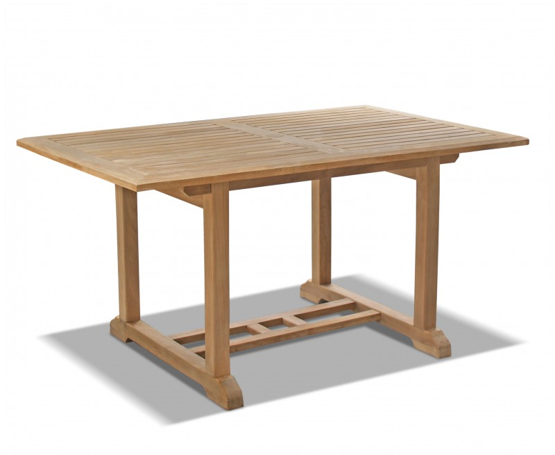 Winchester Teak Outdoor Dining Table - 1.5m x 0.9m