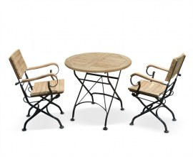 French Bistro Outdoor Set for Two