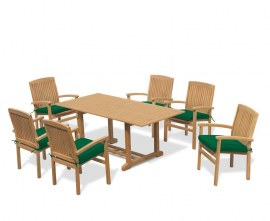 Winchester 6 Seater Outdoor Dining Set