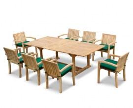 Dorset Rectangular Outdoor Dining Set