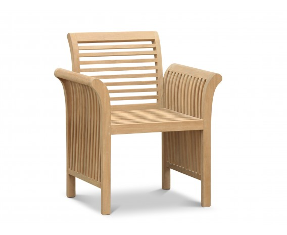 Richmond Teak Contemporary Garden Armchair