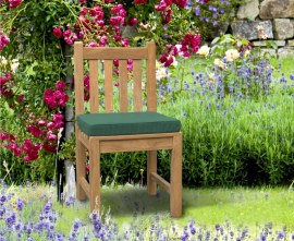 York Teak Outdoor Dining Chair