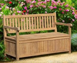 York Outdoor Storage Bench