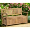 York Outdoor Storage Bench