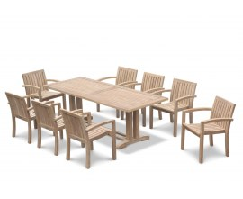 Rectory Teak Garden Dining Set