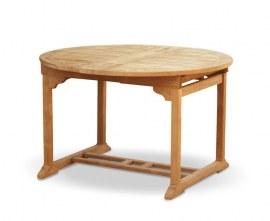 Oxburgh Teak Extending Outdoor Dining Table