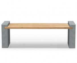 Contemporary Backless Bench