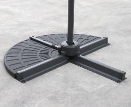 HDPE Concrete Parasol Base Weights - Set of 2 Slabs