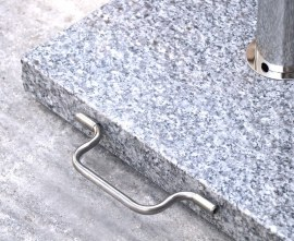 Granite and Stainless Steel with Wheels