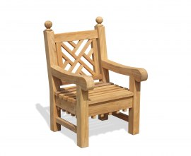 Churchill Teak Garden Chair with Arms
