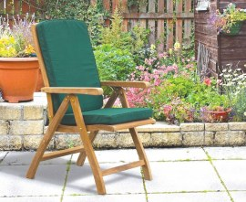 Cannes Teak Reclining Chair with Footrest