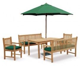 Hampton Teak Garden Dining Set
