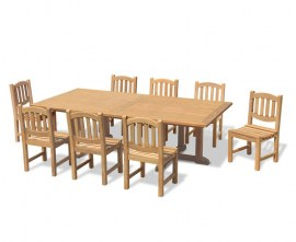 Winchester Teak Outdoor Dining Set