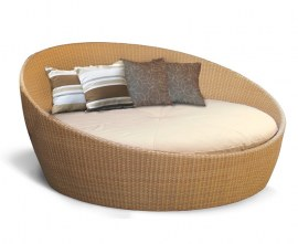 Poly-Rattan Garden Daybed